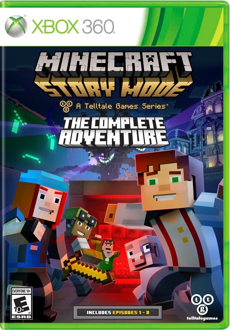 Minecraft: Story Mode - Season Disc Release Date (Xbox 360, PS3, Xbox One, PS4)