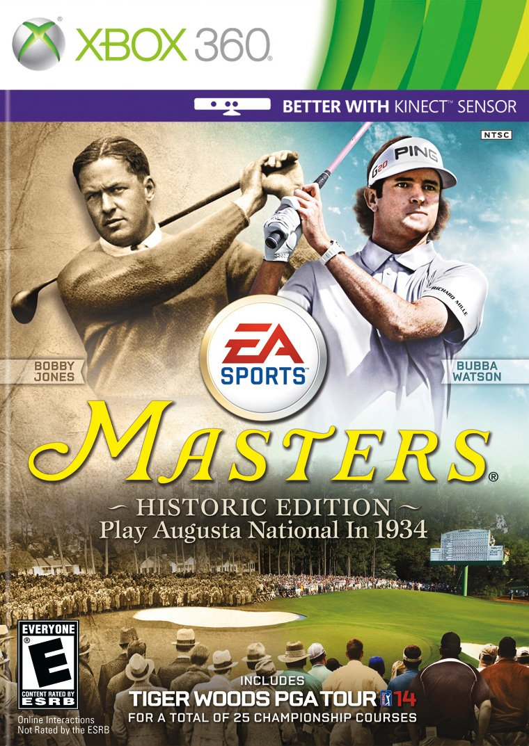 Tiger Woods PGA Tour 14 The Master's Historic Edition ...