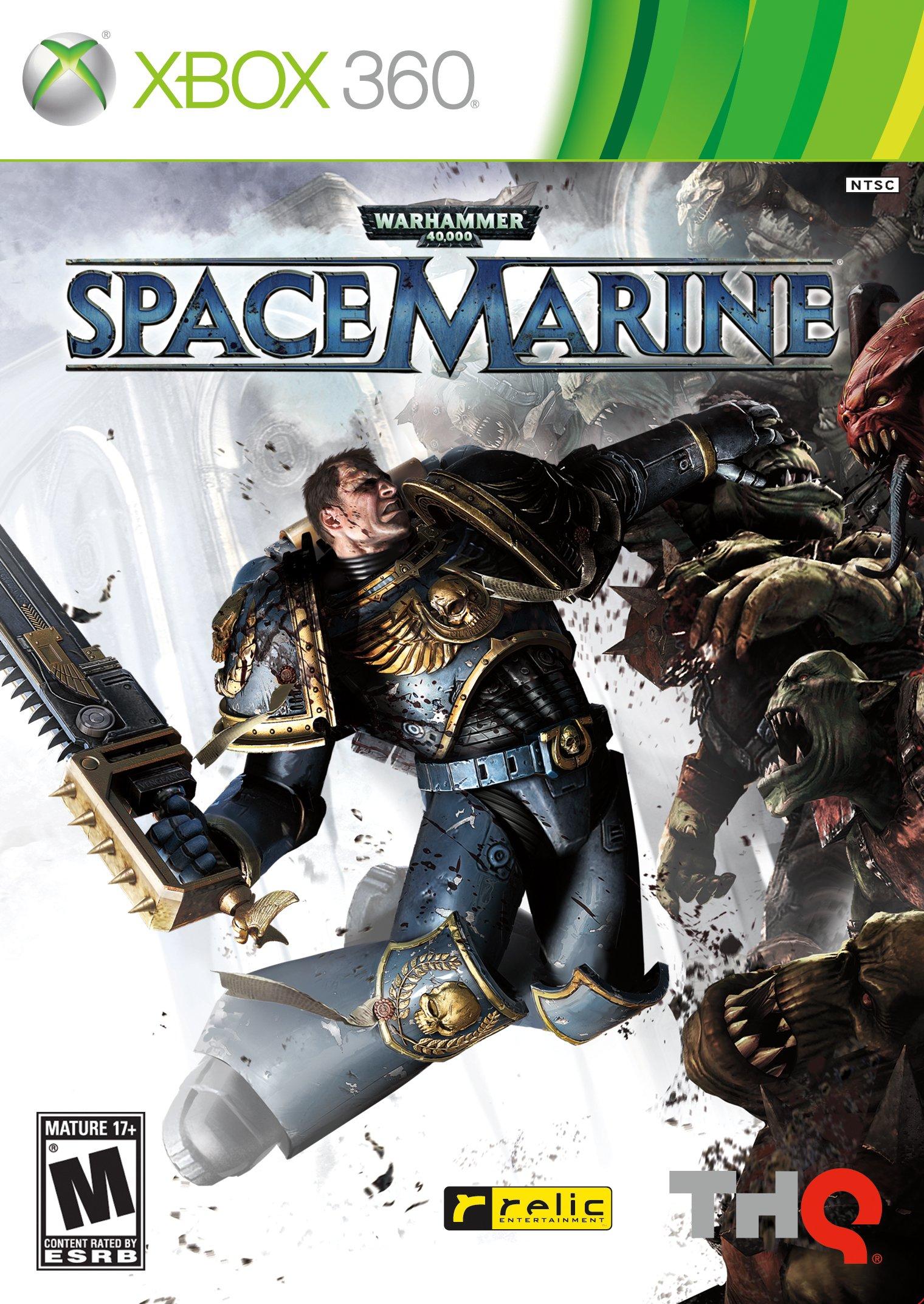 Warhammer 40k space marine xbox 360 gameplay youtube.