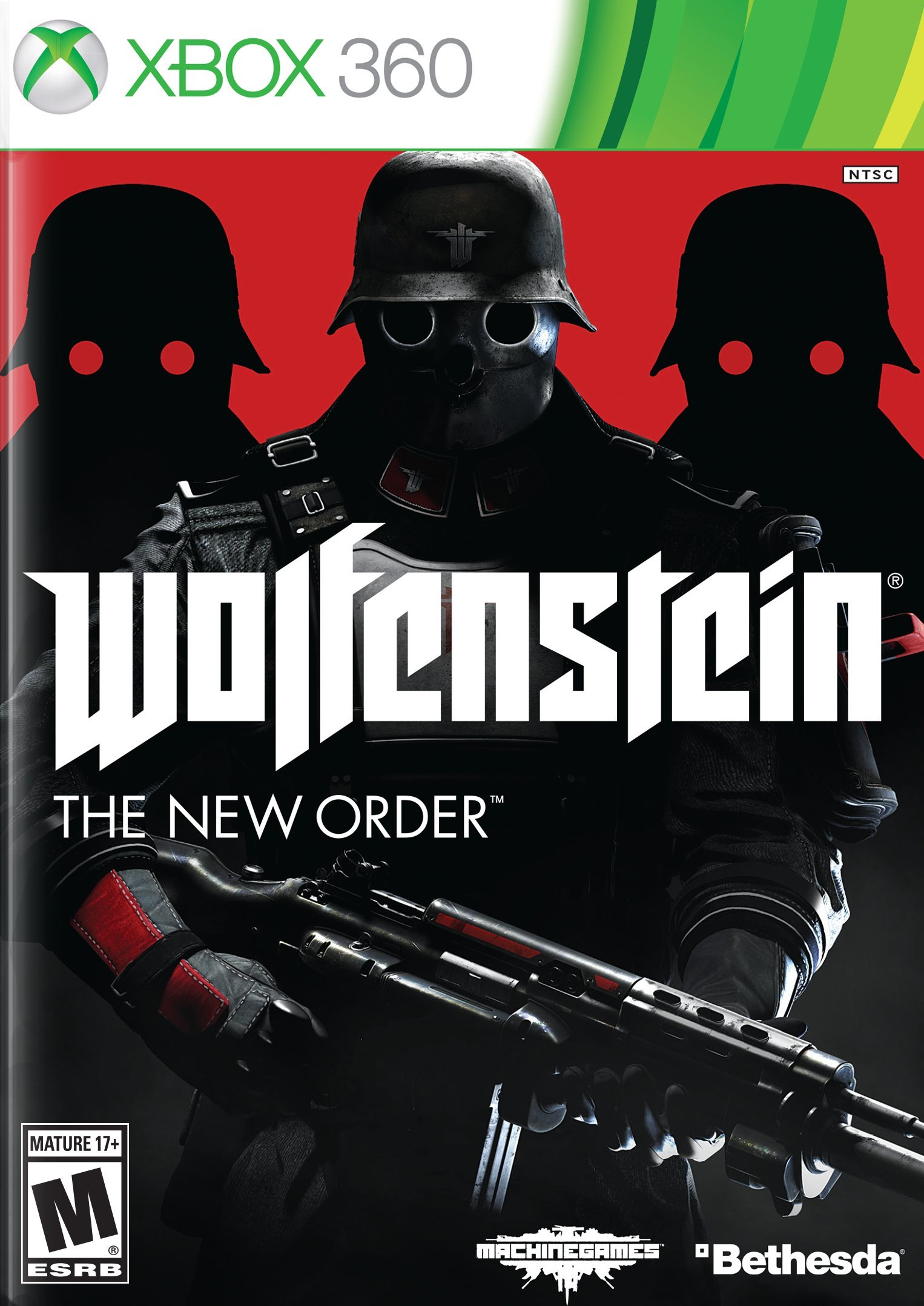 Xbox 360 Video Games New Releases Wolfenstein: The New O...