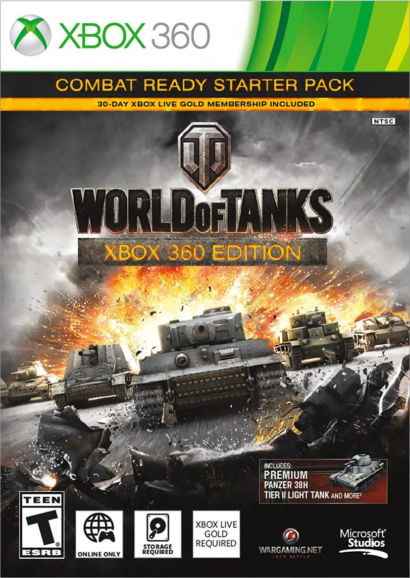 Xbox 360 Video Games New Releases World of Tanks Release...