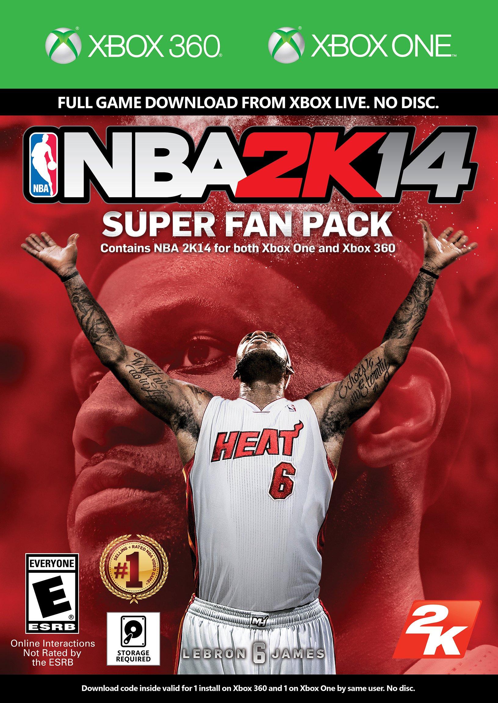 NBA 2k14 Super Fan Pack Release Date (Xbox 360, PS3)