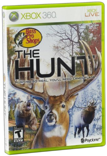 Hunting Games For Xbox 360 : Bass pro shops the hunt release date xbox wii