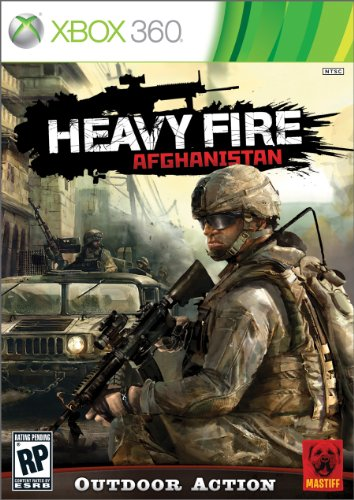 Shooting Games For Xbox 360 : Heavy fire afghanistan w peripheral gun release date