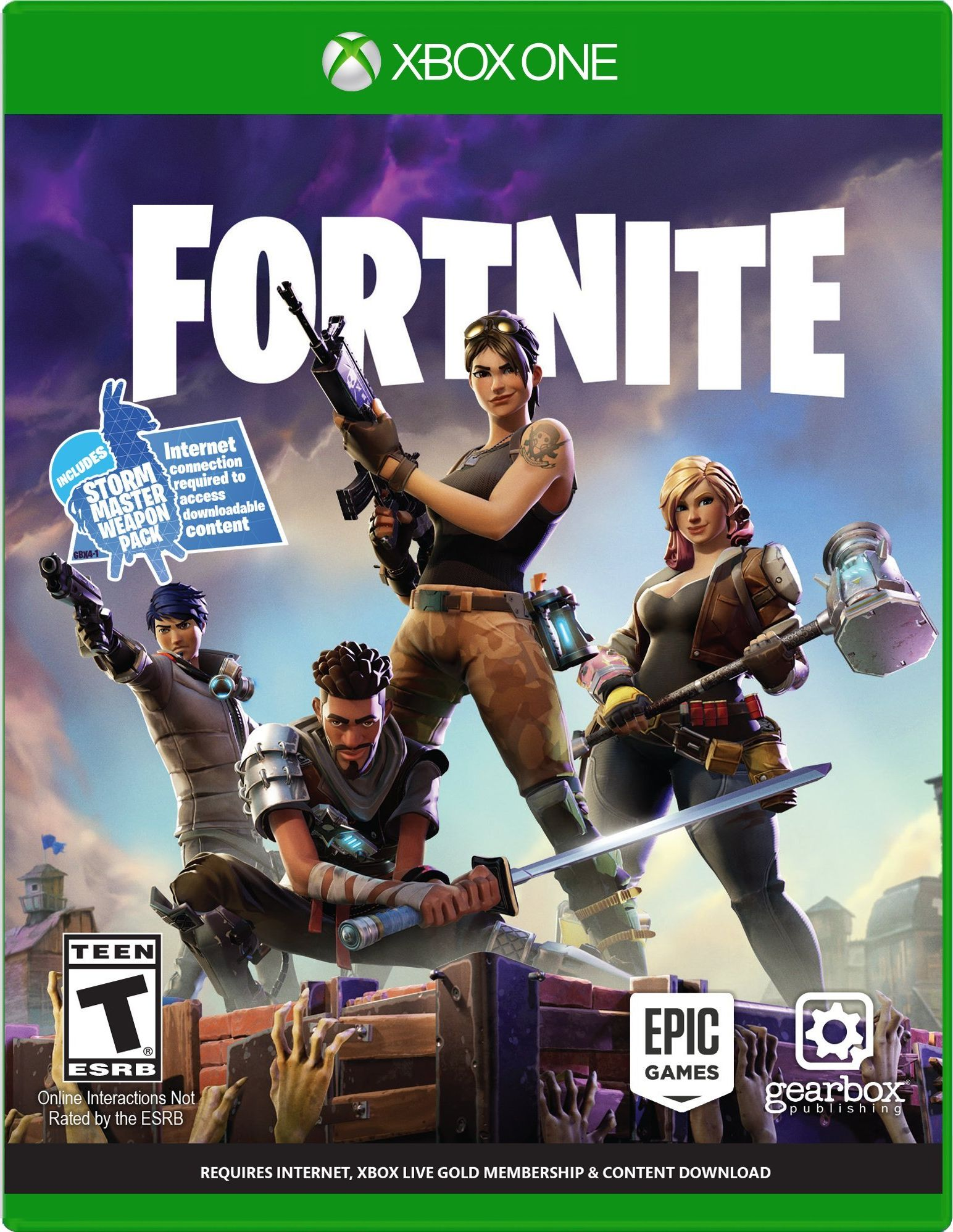 Xbox 1 Games Covers Fortnite Release Date ...