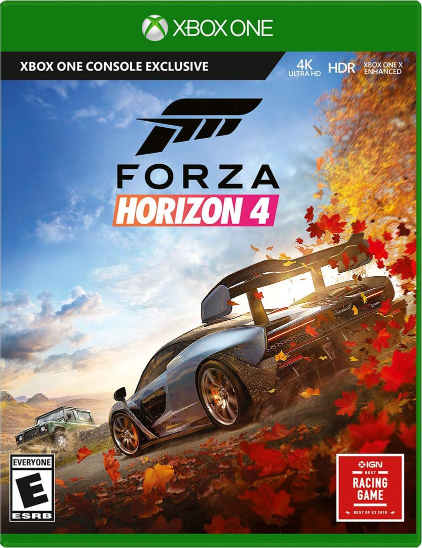 forza horizon 4 standard edition xbox one release date xbox one. Black Bedroom Furniture Sets. Home Design Ideas