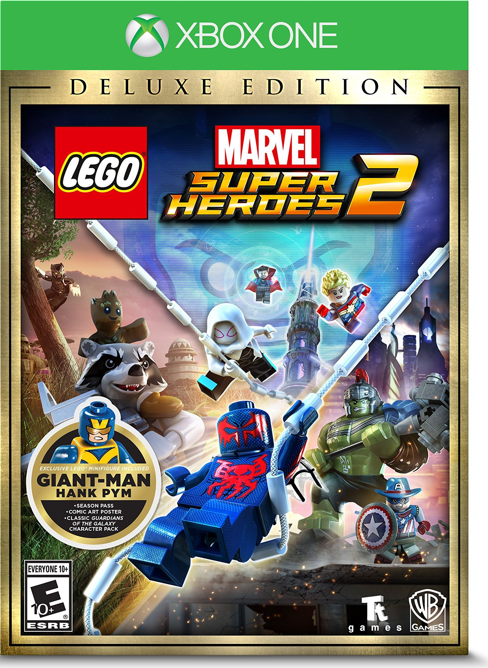Lego Marvel Superheroes 2 Deluxe Release Date Xbox One