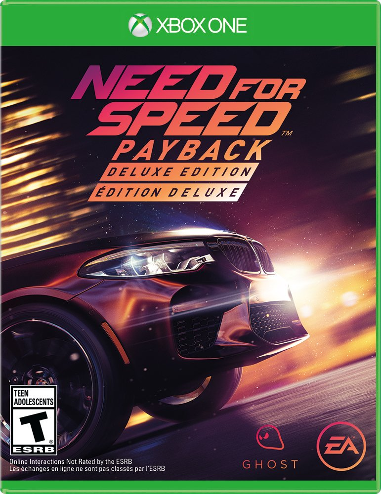 need for speed payback deluxe edition release date xbox one ps4. Black Bedroom Furniture Sets. Home Design Ideas