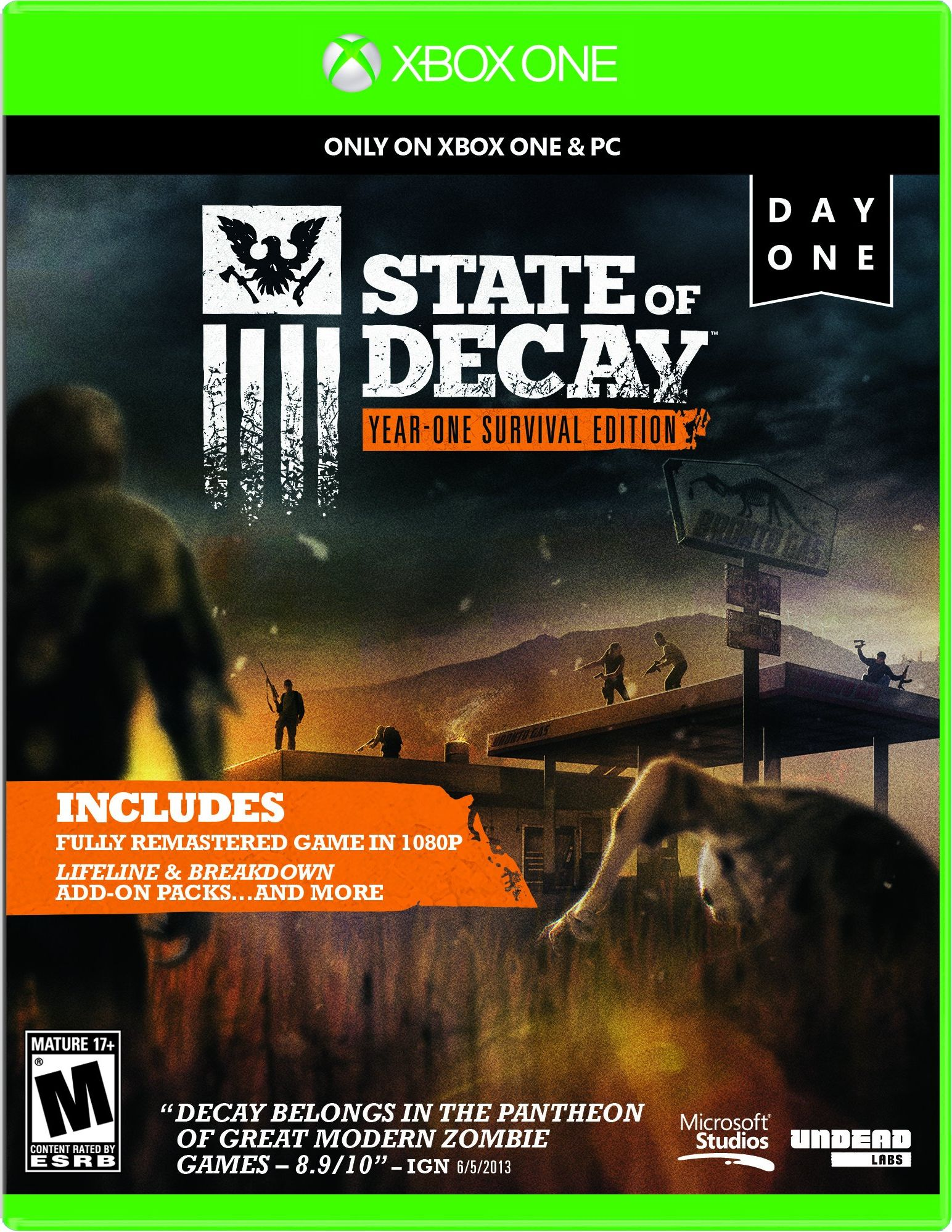 Xbox One Release Games : State of decay release date xbox one