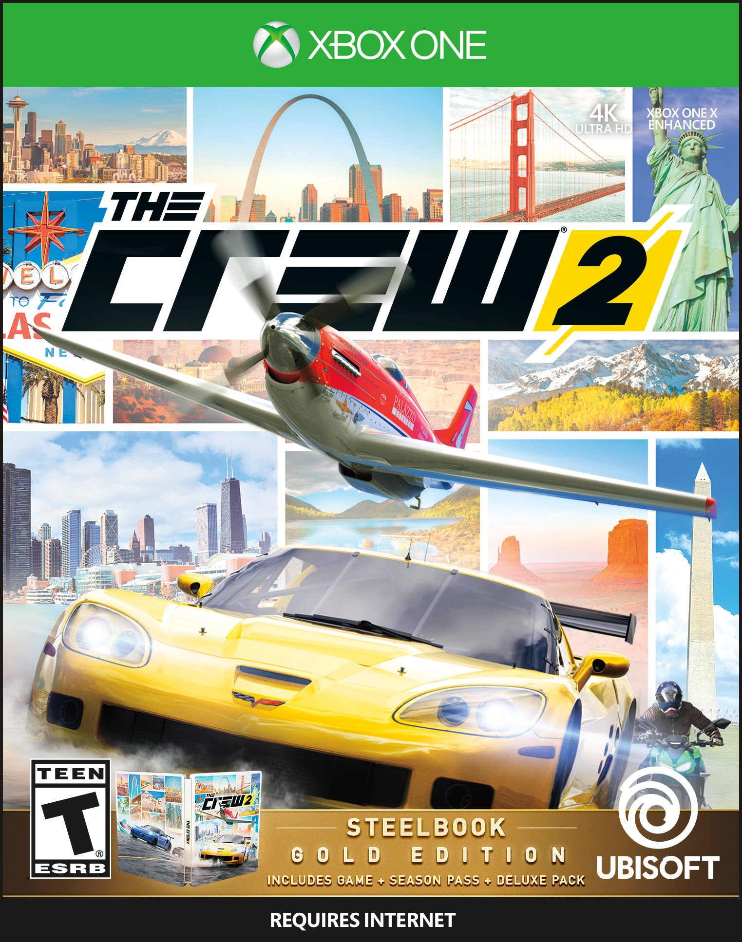 the crew 2 gold edition release date xbox one ps4. Black Bedroom Furniture Sets. Home Design Ideas