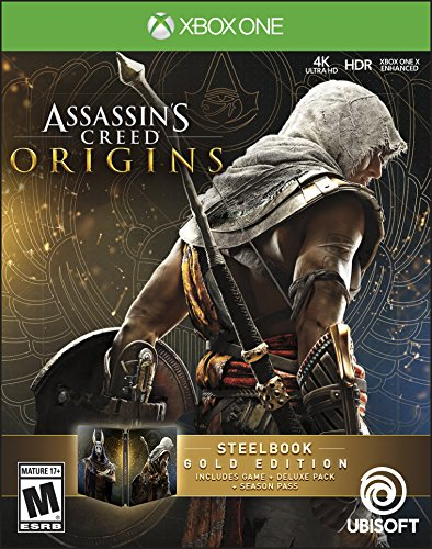 Assassin's Creed Origins SteelBook Gold Edition