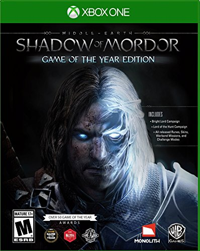 Middle Earth: Shadow of Mordor Game of the Year