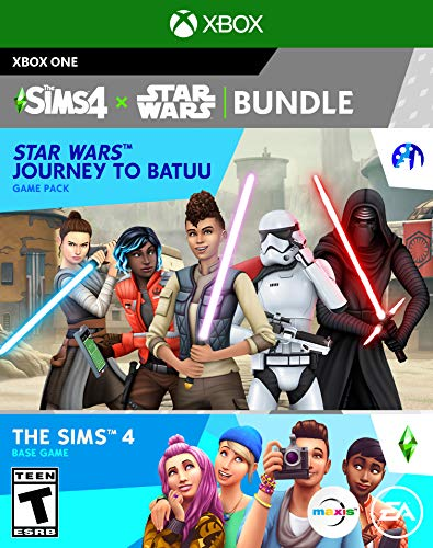 The Sims 4 Plus Star Wars Journey to Batuu Bundle